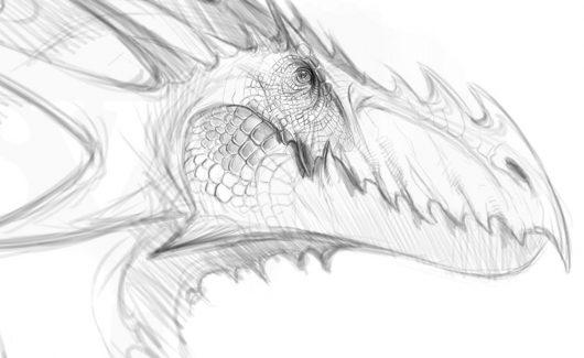 Desenhando Dragão - Você irá aprender a passar para o nível avançado, atingindo um nível mais elevado de modelagem