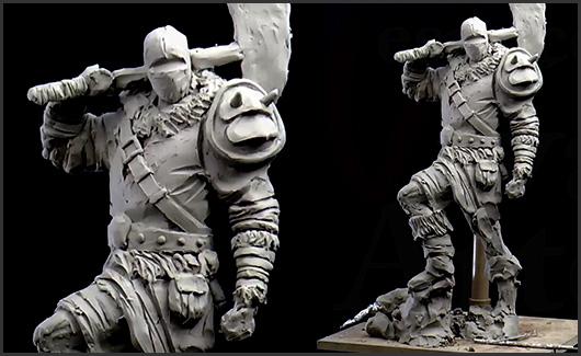 Roupas/Acessórios - Nesta etapa, vamos pegar a escultura feita durante a aula de gesturing e mostrar como criar o traje do personagem.