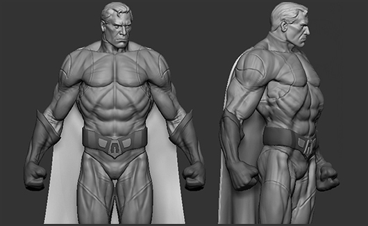 Anatomia do Herói - Iremos estudar a anatomia e analisar os principais aspectos que caracterizam o herói.
