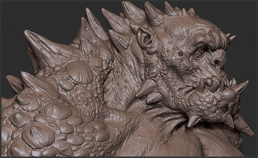 Modelagem de Criatura - Nesta etapa vamos estudar e modelar uma criatura. Você irá ver como produzir desde a concepção até o modelo finalizado.